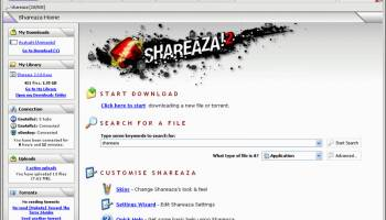 Shareaza screenshot