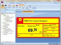 Print Layout Designer screenshot