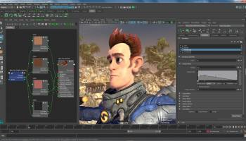 Autodesk Maya screenshot
