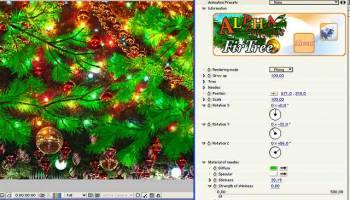 AlphaPlugins FirTree AfterEffects Win screenshot