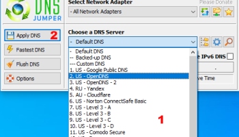 DNS Jumper screenshot