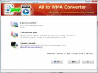 Boxoft All to Wma Converter screenshot