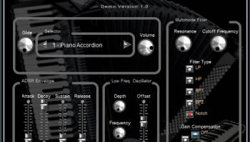 Akkordica Virtual Accordion VSTi screenshot