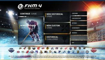 Franchise Hockey Manager screenshot