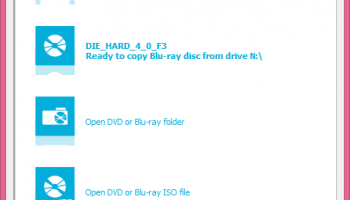 Blu-ray Copy 360 x64 screenshot