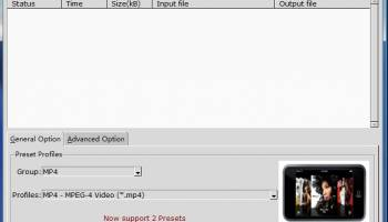 Convert MPEG MP4 screenshot