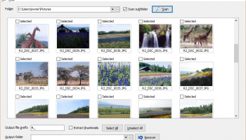 JPEG Recovery Professional screenshot