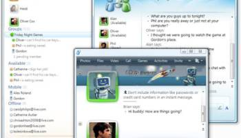 Windows Live Messenger 2011 screenshot