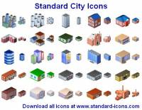Standard Stadt Icons screenshot