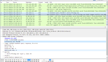 Wireshark (x64bit) screenshot