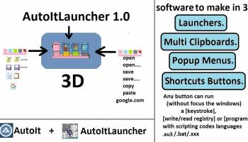 Autoitlauncher screenshot