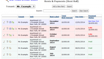 Easy Landlord USA Free Desktop Edition screenshot