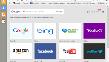 Maxthon Portable screenshot