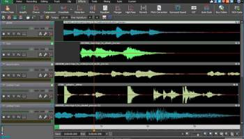 MixPad Music Mixer and Recorder Free screenshot