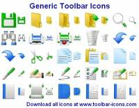 Generic Toolbar Icons screenshot