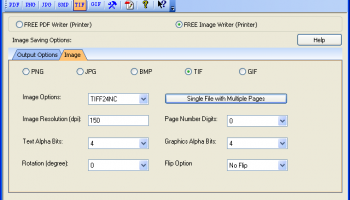 PDFill PDF and Image Writer x64 screenshot