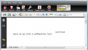 pdfMachine screenshot