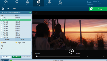Leawo Blu-ray Copy screenshot