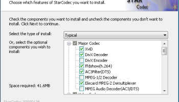 StarCodec x64 screenshot