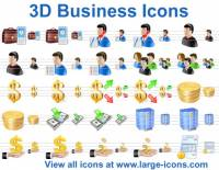 3D Business Icons screenshot