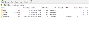 7-Zip Portable screenshot