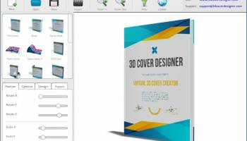 3D Cover Designer screenshot