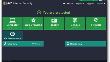 AVG Internet Security 2013 (x64 bit) screenshot