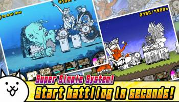The Battle Cats for PC screenshot