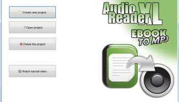 Audio Reader XL 2020 screenshot