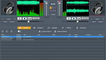 DJ Mix Studio screenshot