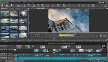 VideoPad Free Movie and Video Editor screenshot