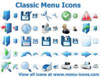 Classic Menu Icons screenshot