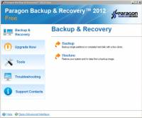 Paragon Backup & Recovery Free Edition 64bit screenshot