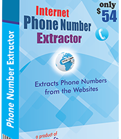 Internet Phone Number extractor screenshot