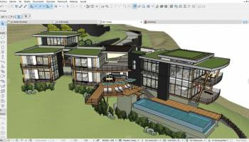 Archicad 64bit screenshot