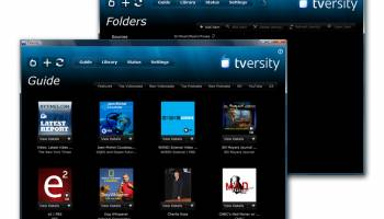 TVersity Media Server PRO screenshot
