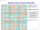 Sudoku Game Solver Generator for Windows